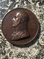 1814 FRANCE VISIT OF FREDRICK WILLIAM III OF PRUSSIA MEDAL LOT6442  40MM