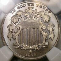 1879/8 SHIELD NICKEL APPEALING GORGEOUS   NGC PROOF 66 CHOICE PQ GEM