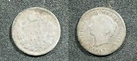 1899 CANADA 5 CENT SILVER   GOOD DETAILS BUT SCRATCH ON REVERSE POLISH STKH59