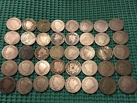 COMPLETE ROLL OF 40 1898 LIBERTY NICKELS- LOW MINTAGE DATE