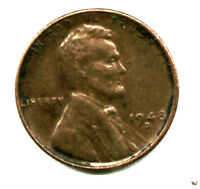 US LINCOLN CENTS: 1948D LINCOLN WHEAT CENT