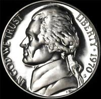 1970 S GEM PROOF JEFFERSON NICKEL   ALWAYS BEST VALUE @ CHERRYPICKERCOINS
