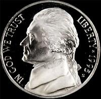 1995 S GEM PROOF JEFFERSON NICKEL   ALWAYS BEST VALUE @ CHERRYPICKERCOINS