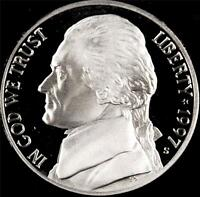 1997 S GEM PROOF JEFFERSON NICKEL   ALWAYS BEST VALUE @ CHERRYPICKERCOINS