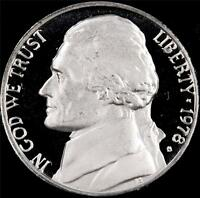 1978 S GEM PROOF JEFFERSON NICKEL   ALWAYS BEST VALUE @ CHERRYPICKERCOINS