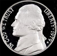 1979 S TY 1 GEM PROOF JEFFERSON NICKEL   ALWAYS BEST VALUE @ CHERRYPICKERCOINS