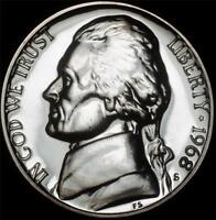 1968 S GEM PROOF JEFFERSON NICKEL   ALWAYS BEST VALUE @ CHERRYPICKERCOINS
