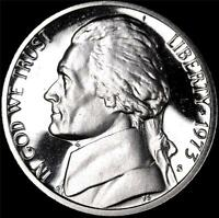 1973 S GEM PROOF JEFFERSON NICKEL   ALWAYS BEST VALUE @ CHERRYPICKERCOINS