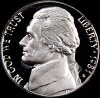 1981 S TY 1 GEM PROOF JEFFERSON NICKEL   ALWAYS BEST VALUE @ CHERRYPICKERCOINS