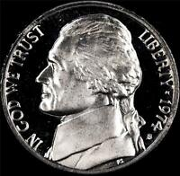 1974 S GEM PROOF JEFFERSON NICKEL   ALWAYS BEST VALUE @ CHERRYPICKERCOINS