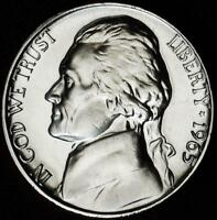 1965 SMS GEM BU JEFFERSON NICKEL   ALWAYS BEST VALUE @ CHERRYPICKERCOINS