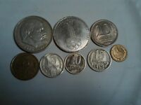 RUSSIA / SOVIET UNION LOT OF 8 COINS