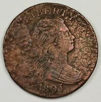 1803 LARGE CENT.  X.F. DETAIL.  113014