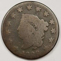 1822 LARGE CENT.  CIRCULATED.  101418