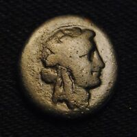 PHILADELPHIA LYDIA AE17 HEAD OF DIONYSOS RV PANTHER 100 14BC 5.46 GRAMS