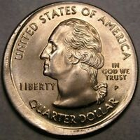 1999 CONNECTICUT STATE QUARTER APPEALING BEAUTY CHOICE   OFF CENTER STRIKE