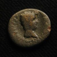 LYDIA SARDIS  AE17  GERMANICUS & DRUSUS CAESARS ISSUED UNDER TIBERIUS 3.80 GRAMS