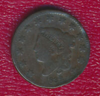 1832 CORONET HEAD LARGE CENT WONDERFUL TYPE COIN SHIPS FREE