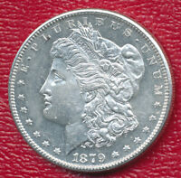 1879-S MORGAN SILVER DOLLAR CHOICE BRILLIANT UNCIRCULATED SHIPS FREE