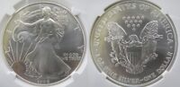 1998 SILVER EAGLE NGC MINT STATE 69