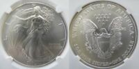 1994 SILVER EAGLE NGC MINT STATE 69
