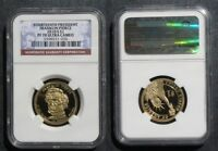 2010 S FRANKLIN PIERCE DOLLAR NGC PF70 ULTRA CAMEO