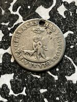 1835 BOLIVIA PROCLAMATION COINAGE MEDAL 1/2 SOL SILVER  LOTP004 BRN13A