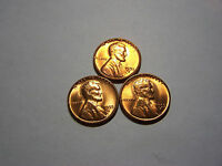 3-1955-S LINCOLN WHEAT  UNCIRCULATED
