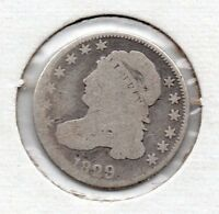 COLLECTOR GRADE1829  CAPPED BUST DIME GREAT PIECE OF AMERICAN HISTORY