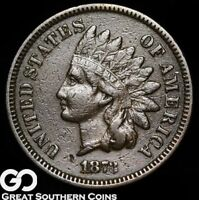 1873 INDIAN HEAD PENNY, CLOSED 3 VARIETY
