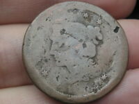 1852 BRAIDED HAIR LARGE CENT PENNY  OLD TYPE COIN