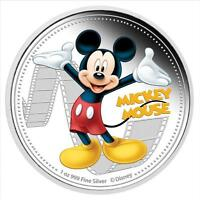 NIUE 2014 $2 DISNEY MICKEY & FRIENDS 2014   MICKEY MOUSE 1 O
