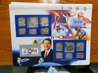 NICELY PACKAGED 1984 UNITED STATES MINT SET