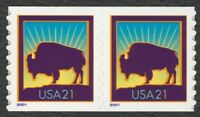 3475 21C AMERICAN BUFFALO COIL PAIR MINT   ANY 4