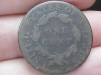 1820 MATRON HEAD LARGE CENT PENNY- SMALL DATE