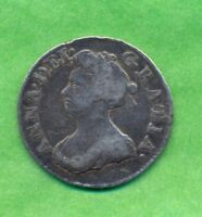 QUEEN ANNE MAUNDY THREEPENCE 1703