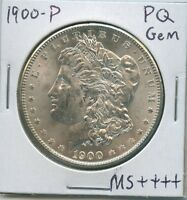 1900-P MORGAN DOLLAR UNCIRCULATED US MINT GEM PQ SILVER COIN UNC MS