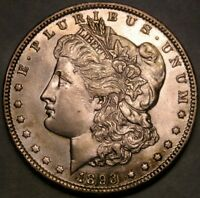 1893 MORGAN SILVER DOLLAR BEAUTIFUL TOUGH DATE REPUNCHD 3 VAM 4 R.4