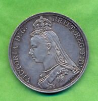 CROWN 1887 VICTORIA JUBILEE HEAD