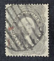 CKSTAMPS: US STAMPS COLLECTION SCOTT37 24C WASHINGTON USED SPOT THIN CV$400
