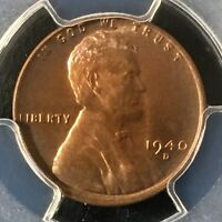 1940-D 1C RB LINCOLN WHEAT CENT PCGS MINT STATE 67RB     36110418