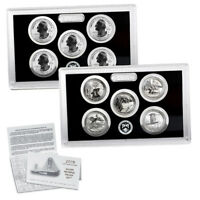 2018  S SILVER REVERSE PROOF AMERICA THE BEAUTIFUL QUARTER SET