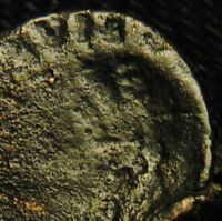 BROCKAGE  HALF NUMMUS EMPEROR MARCIAN RV INCUSE OF OBV 1.16 GR 11 2MM AD 450 7