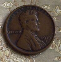1919-S LINCOLN WHEAT CENT   1 COIN   ITM 5657