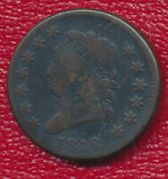 1812 CLASSIC HEAD LARGE CENT FANTASTIC TYPE COIN SHIPS FREE