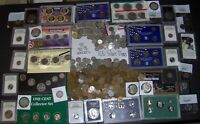 760 COINS  145 SILVER COINS  $1/HALVES/DIMES/NICKELS      S0