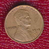 1915-D LINCOLN WHEAT CENT CHOICE ABOUT UNCIRCULATED SHIPS FREE