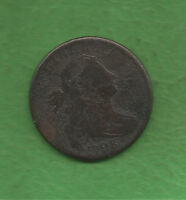 1798 DRAPED BUST LARGE CENT   221 YEARS OLD