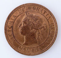 1900 H CANADIAN LARGE CENT CANADA ONE CENT QUEEN VICTORIA CO
