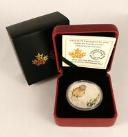 CANADA 2015 $20 BABY ANIMALS SERIES   BURROWING OWL 99.99  FINE SILVER COIN